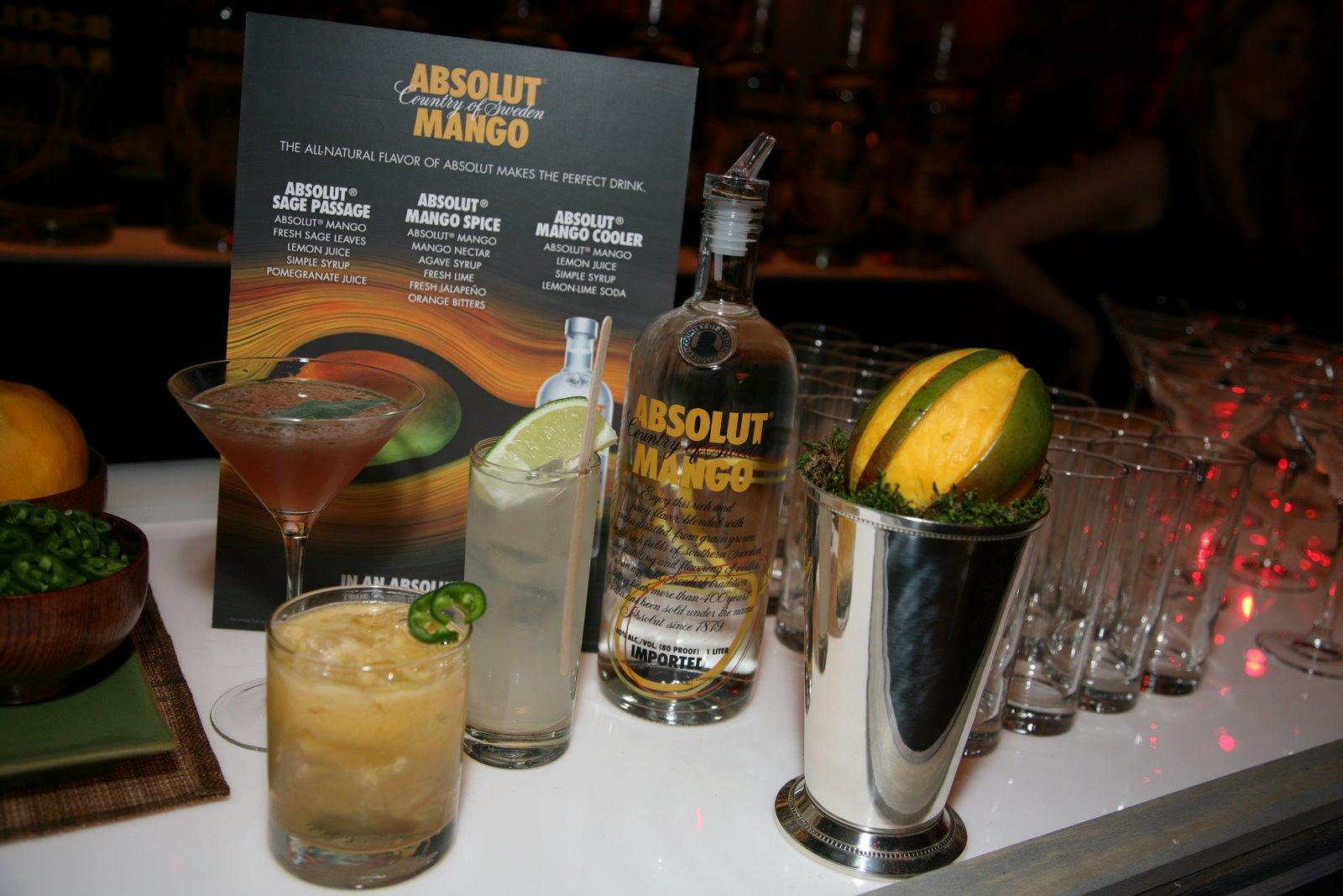 absolut vodka launches absolut mango i have zlata thoughts yo